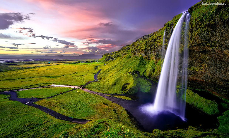 Маршрут автопутешествия по югу Исландии