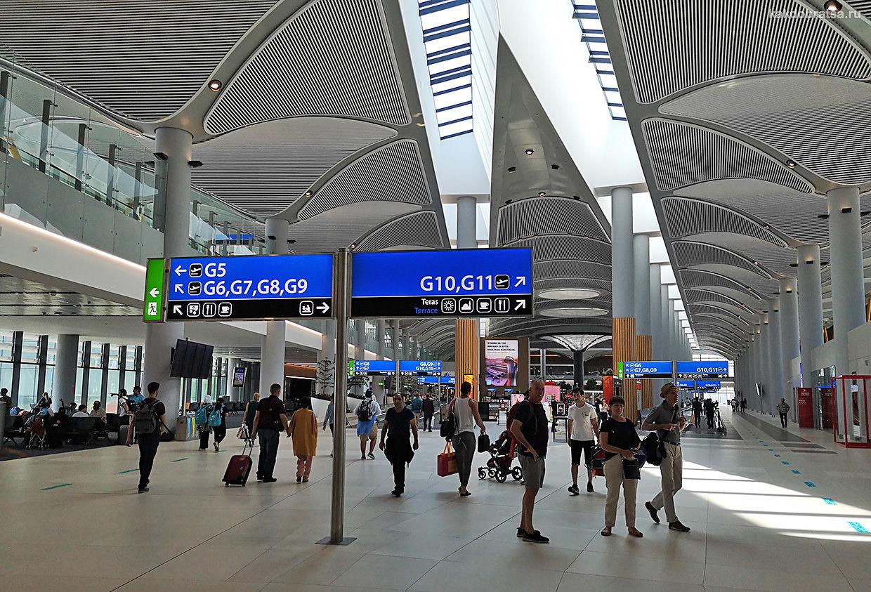 Новый аэропорт Стамбула IST