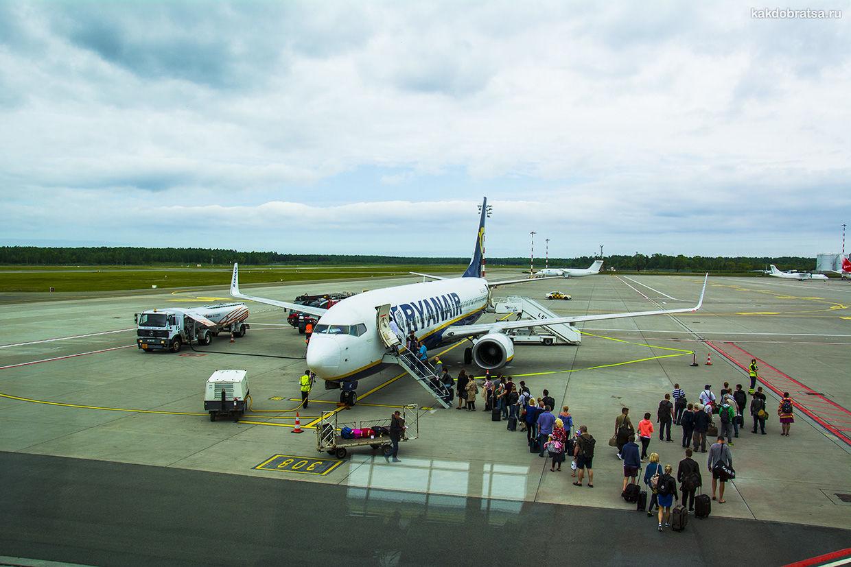 Дешевые перелеты с Ryanair