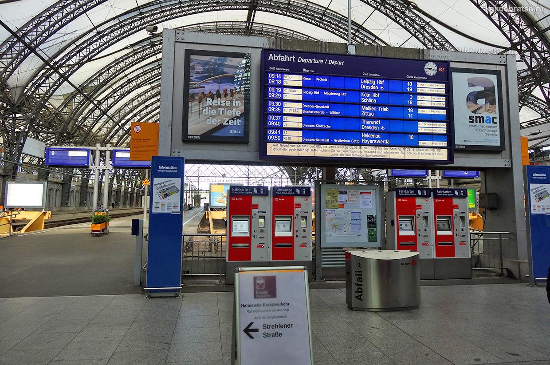 Поезд из Праги в Дрезден