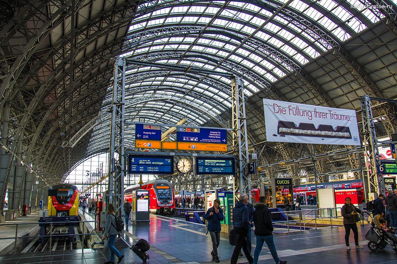 Поезд до Франкфурта