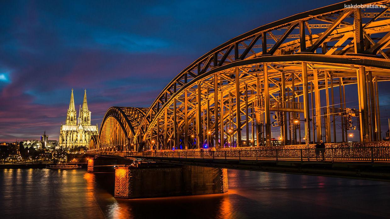Как добраться из Франкфурта-на-Майне в Кёльн