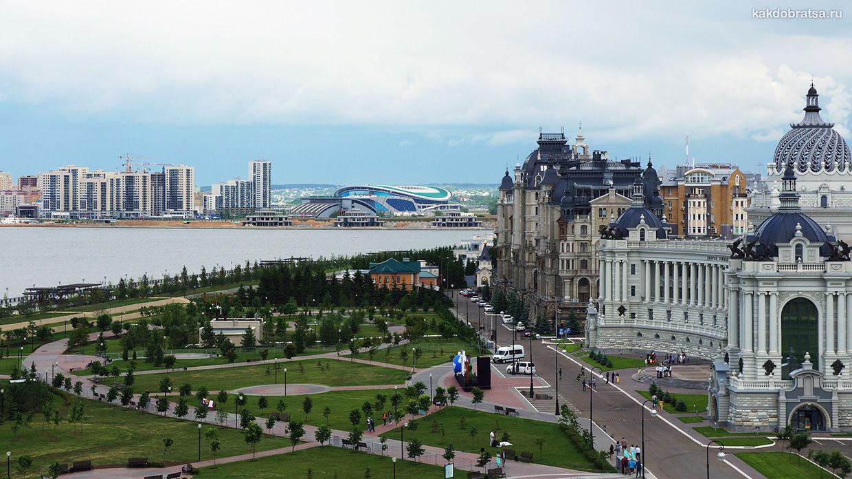 Как добраться из Москвы до Казани