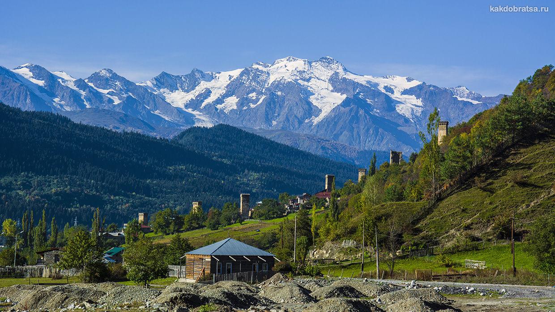 Как добраться из Тбилиси в Сванетию (Местия, Ушгули)