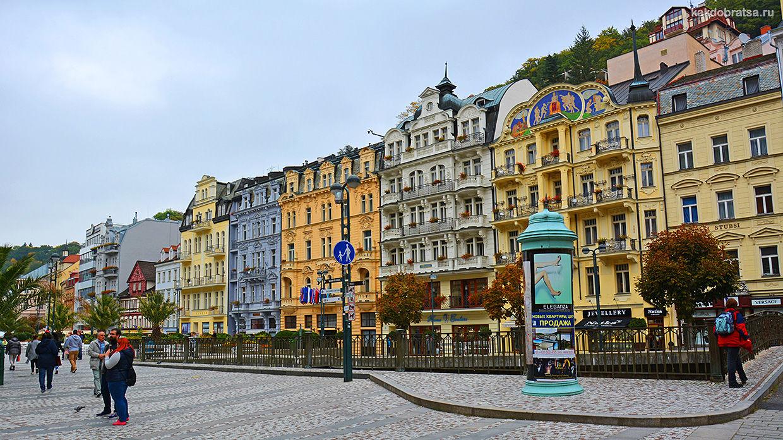 Чешский город Карловы Вары