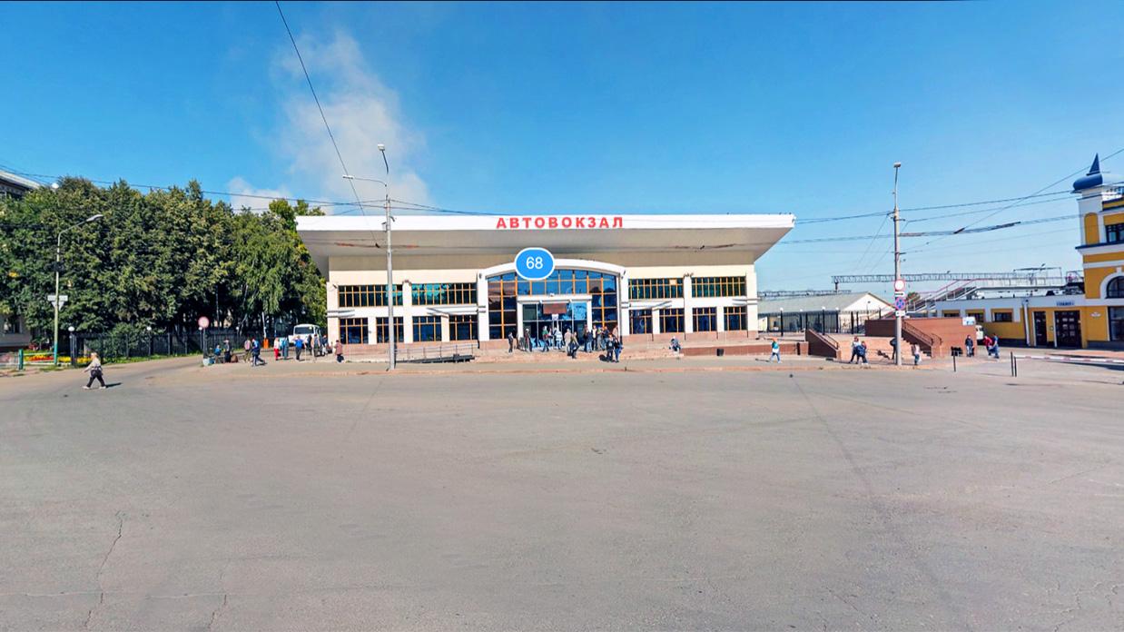 Автовокзал в Томске