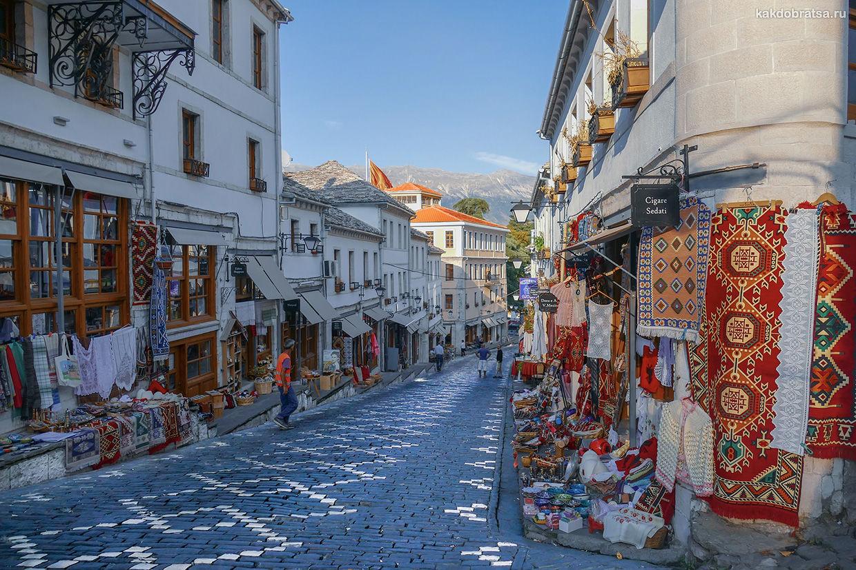 Гирокастра город куда интересно поехать в Албании