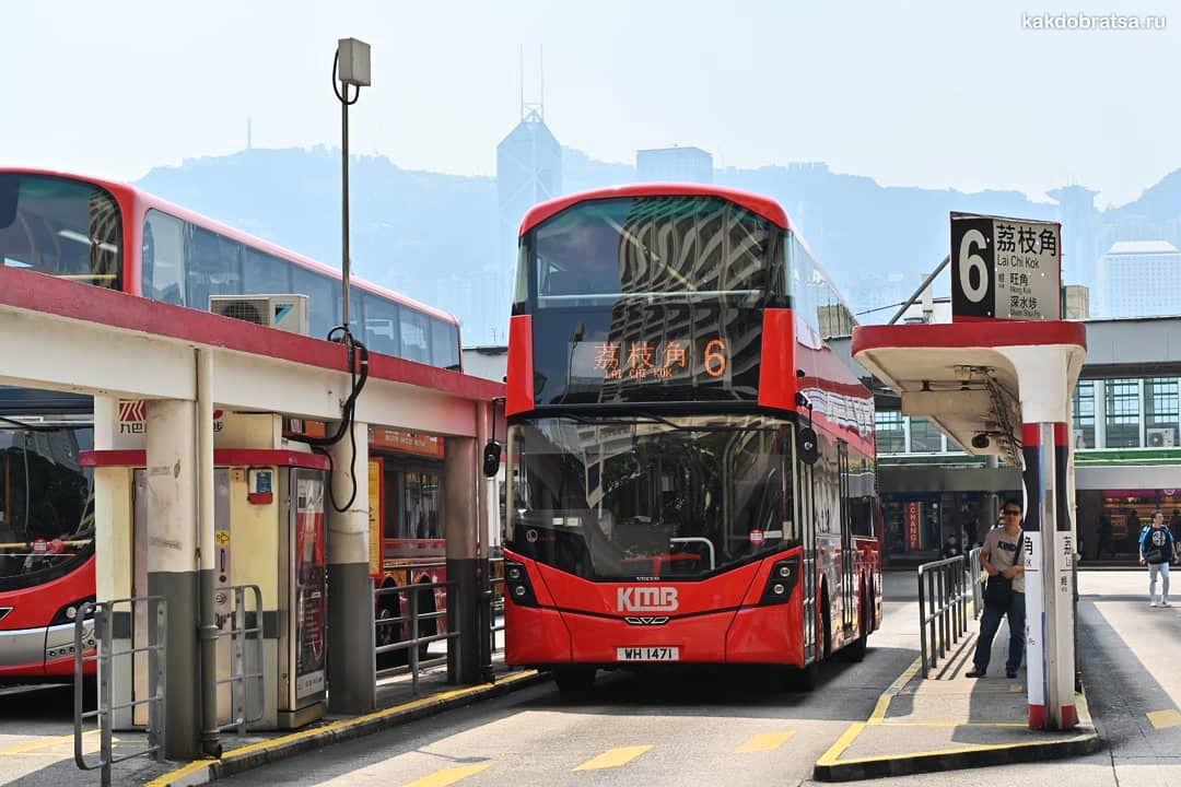 Из Гонконга в Макао автобус