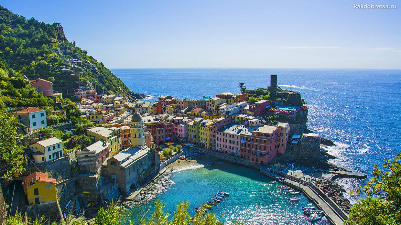 Как добраться до Чинкве Терре из Генуи, Пизы и других городов Италии