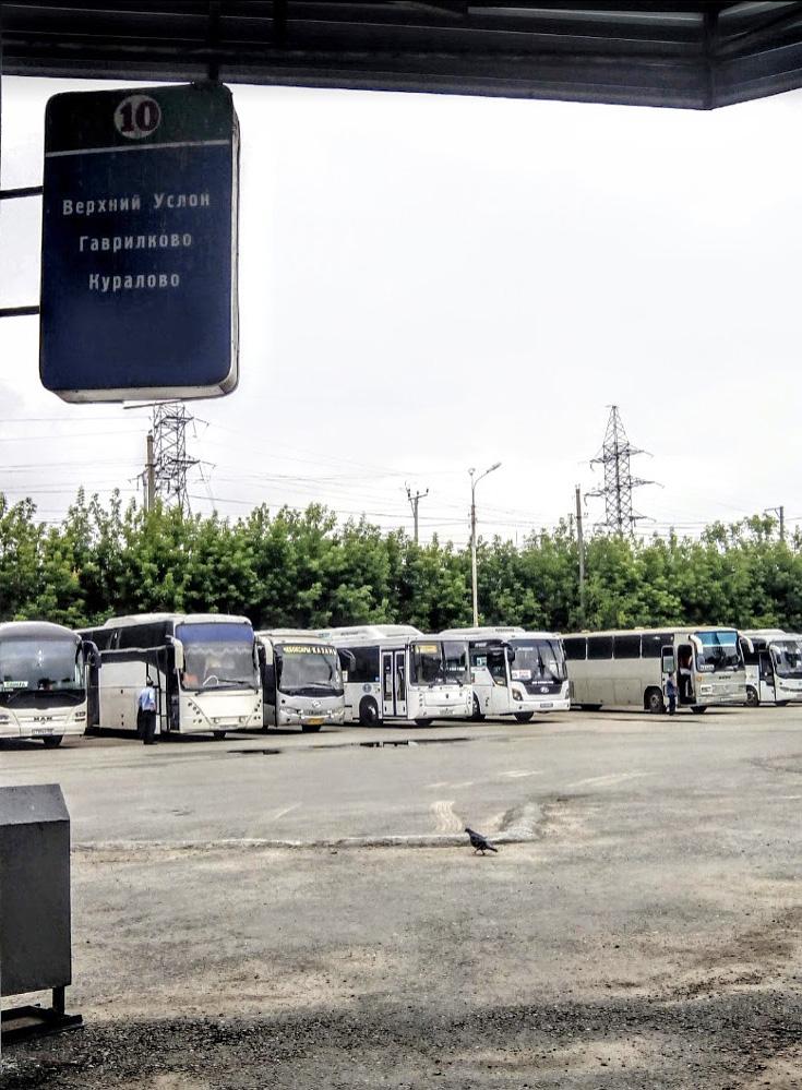 Центральный автовокзал «Столичный» в Казани