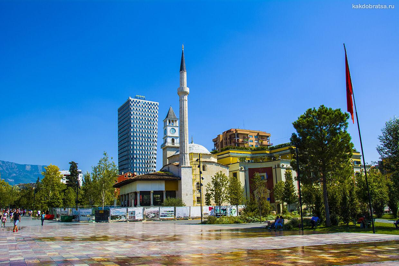 Тирана столица Албании достопримечательности