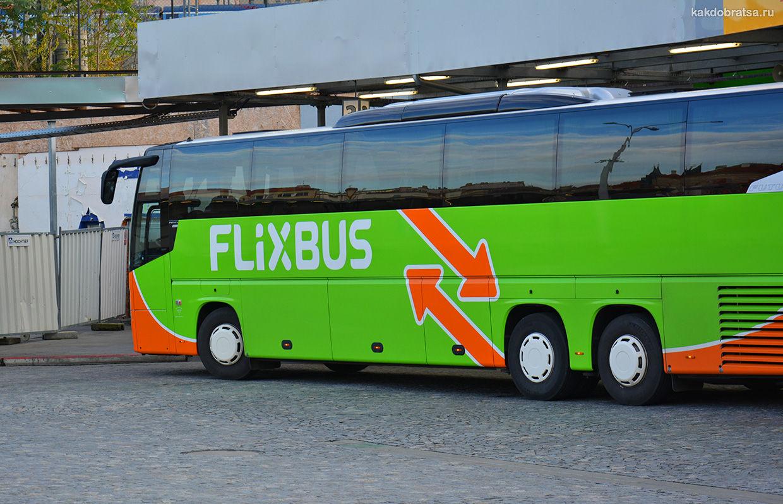 Автобус из Берлина в Дрезден