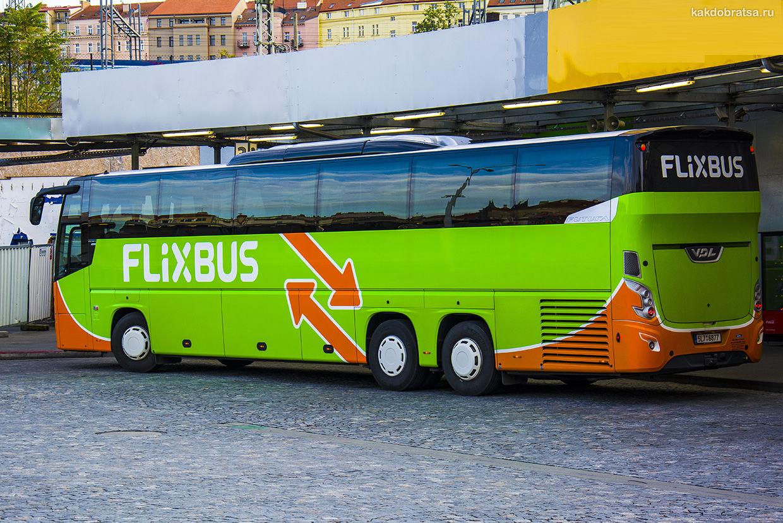 Междугородний автобус из Копенгагена
