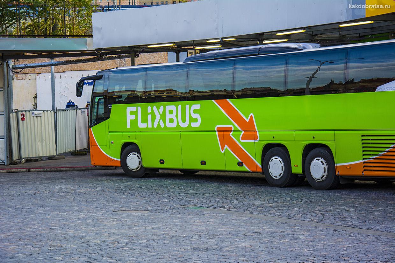 Междугородний автобус в Италии