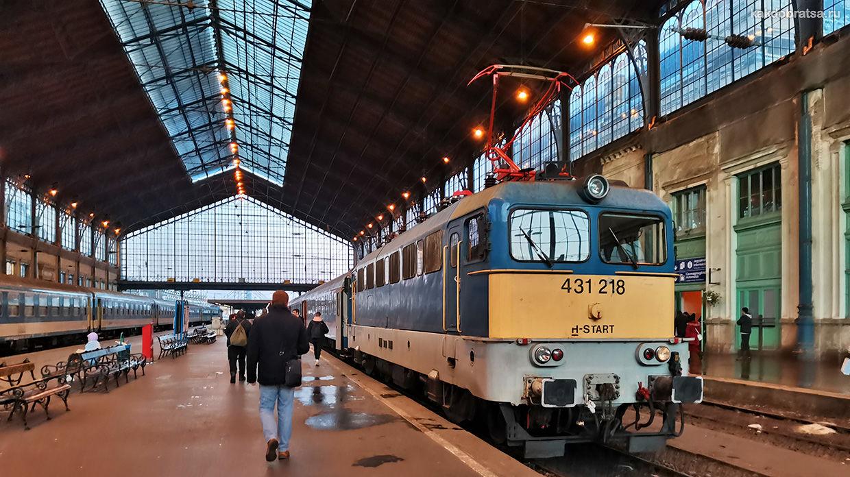 Центральные Железнодорожные вокзалы Будапешта