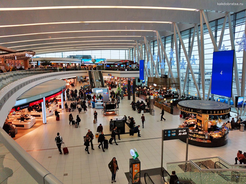 Аэропорт Будапешта терминал, услуги и где поесть