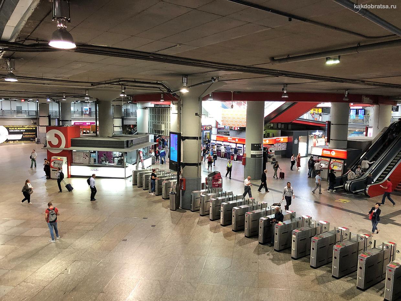 Мадрид центральный железнодорожный вокзал