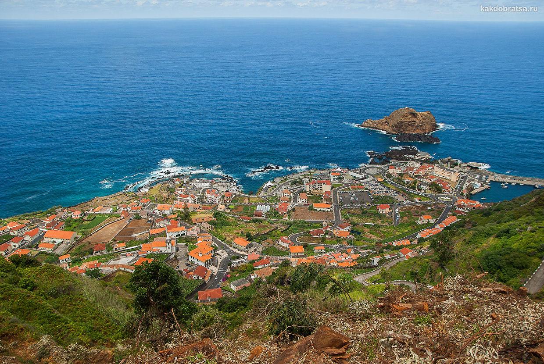 Порту-Мониш интересный приморский город на Мадейре