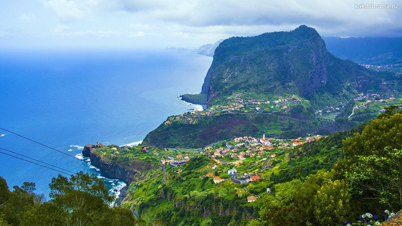 Маршрут по самым красивым местам острова Мадейра