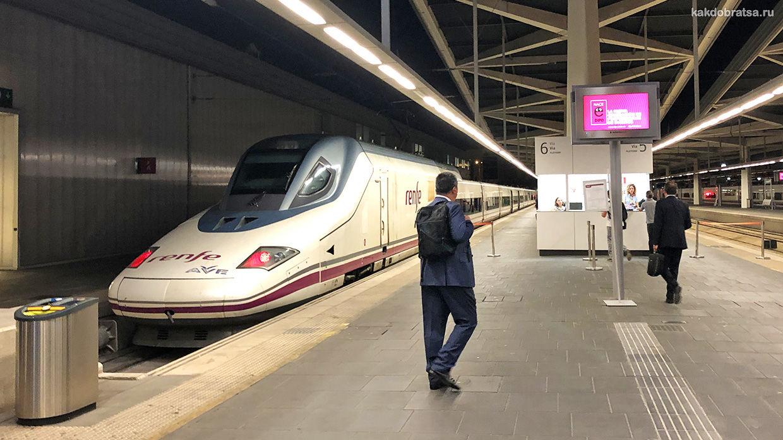 Центральный железнодорожный вокзал Мадрид Аточа