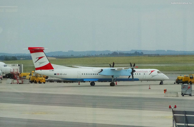 Самолет и авиабилеты из Варшавы в Вену