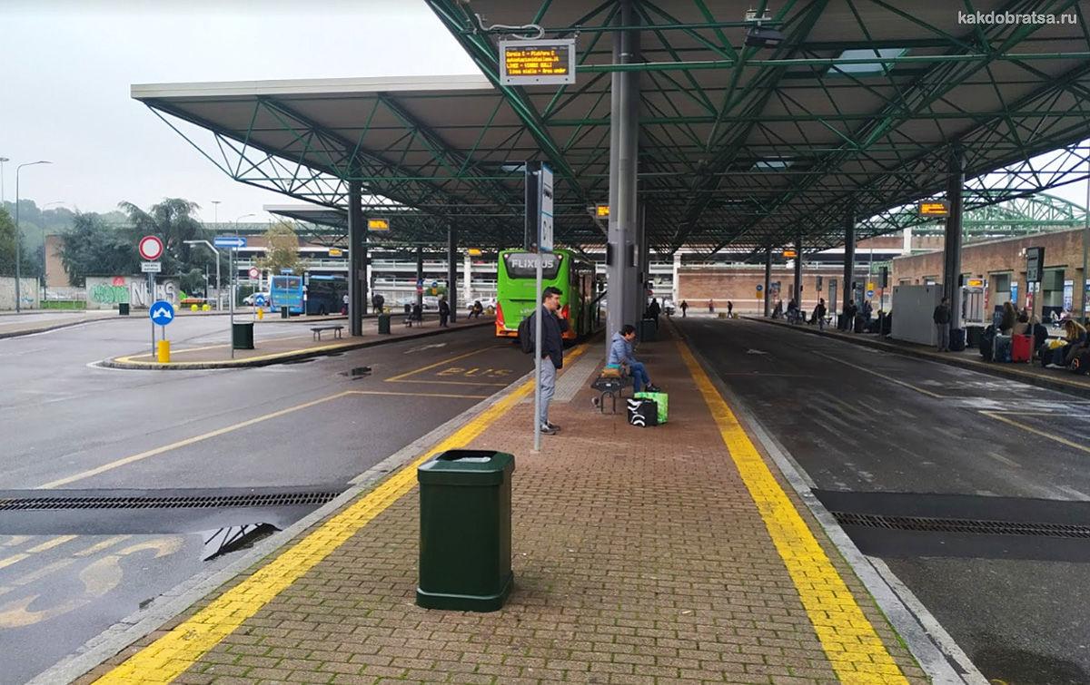 Центральный автовокзал Милана Лампуньяно