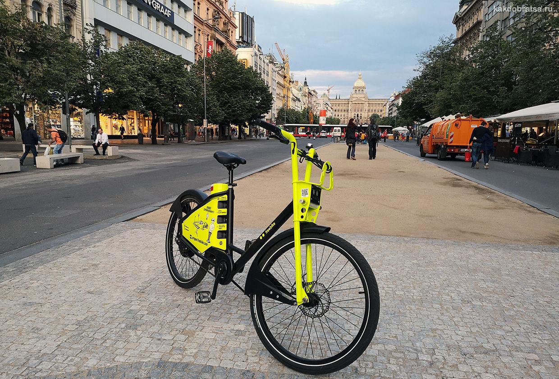 Аренда велосипеда в Праге