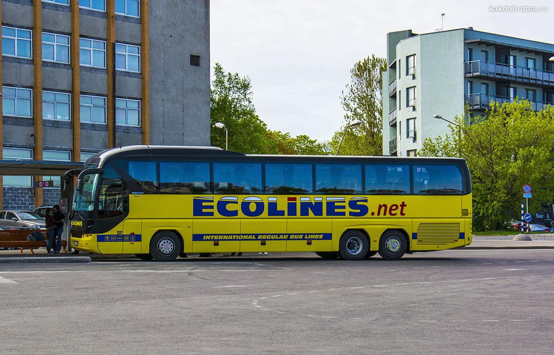 Автобус из Минск в Ригу
