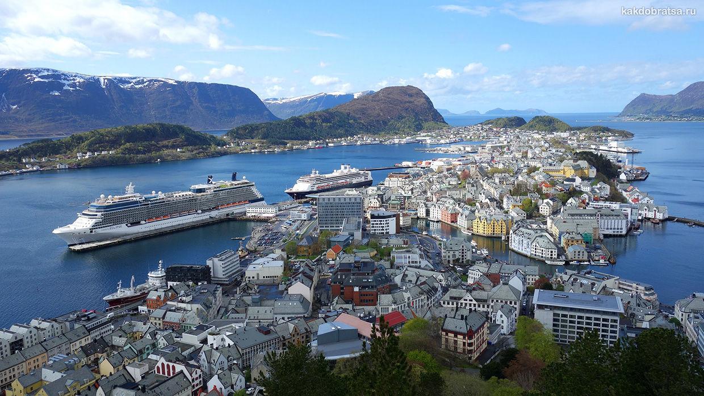 Круиз в Норвегию из Санкт-Петербург