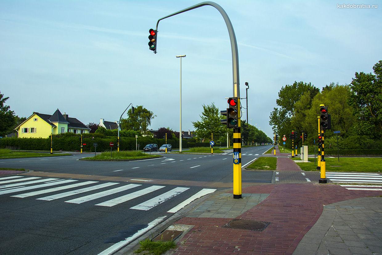Из Парижа в Амстердам на авто
