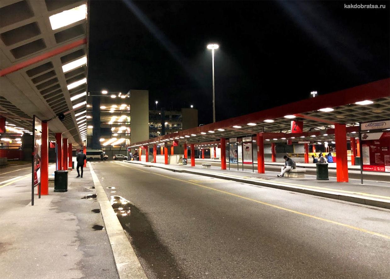 Автовокзал в Милане Сан-Донато