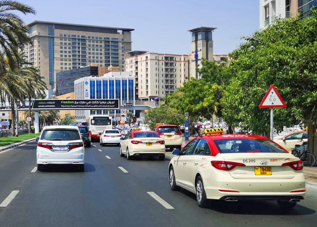 Такси из аэропорта Дубая