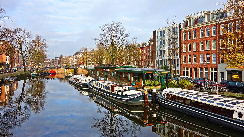 Как добраться из Парижа в Амстердам