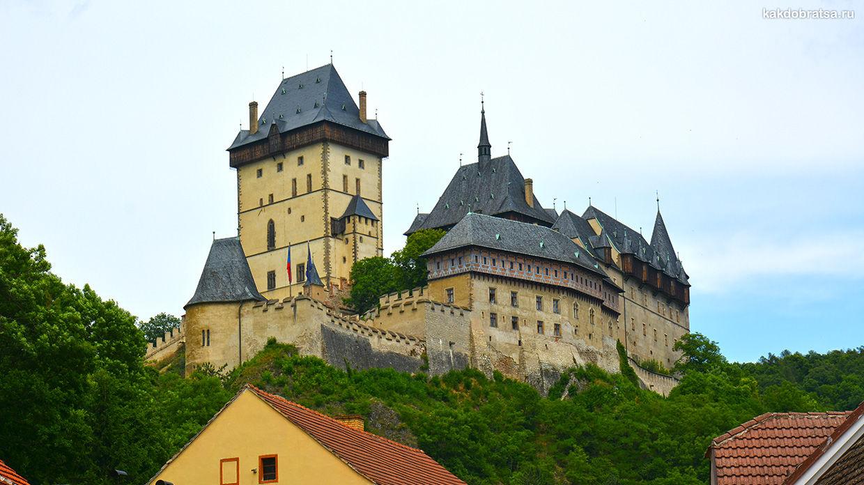 Как добраться в замок Карлштейн из Праги