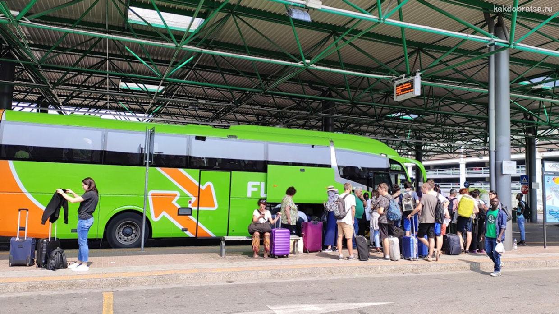 Автовокзалы Милана Лампуньяно и Сан-Донато