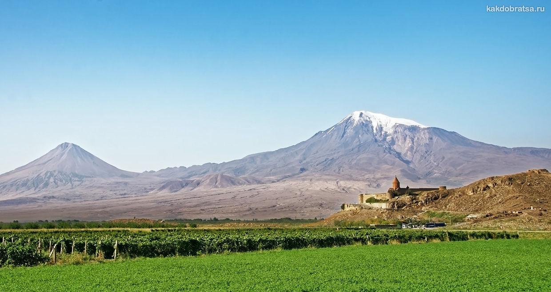 Экскурсия из Еревана на Арарат