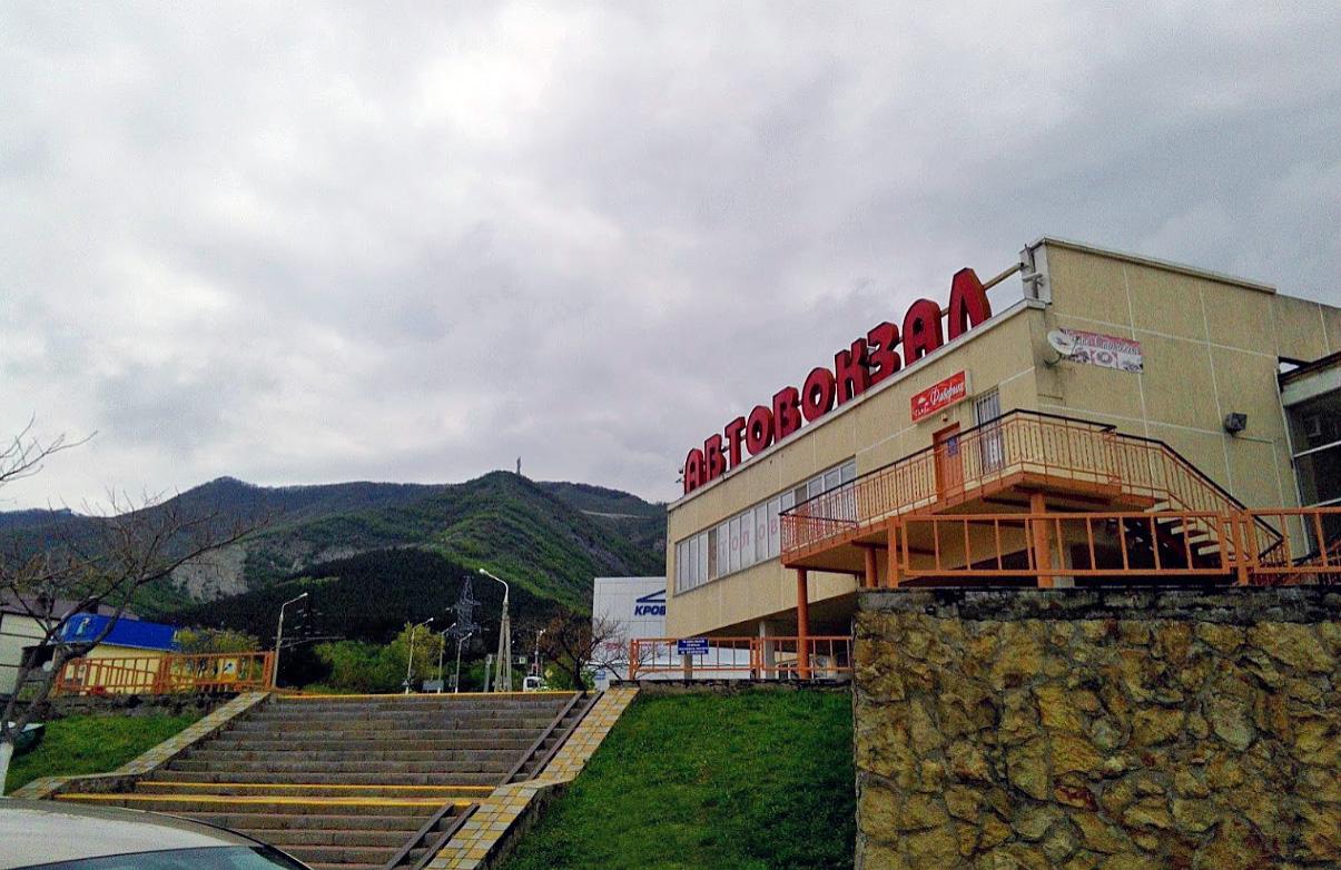Автовокзал в Геленджике междугородние автобусы