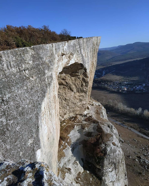 Пещерный город Качи-Кальон в Крыму как добраться координаты
