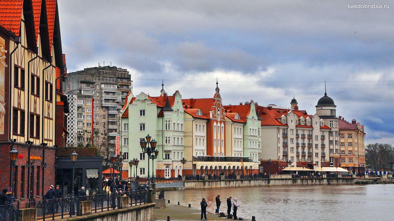 Калининград Смоленск маршрут тура на неделю