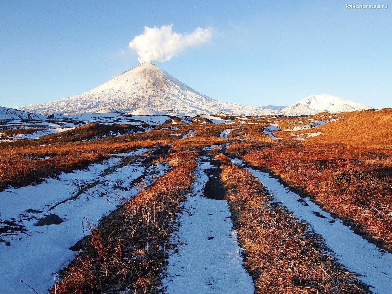 Камчатский вулкан