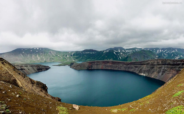 Озеро на Камчатке