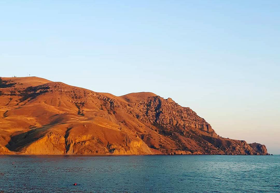 Мыс Меганом красивое место в Крыму