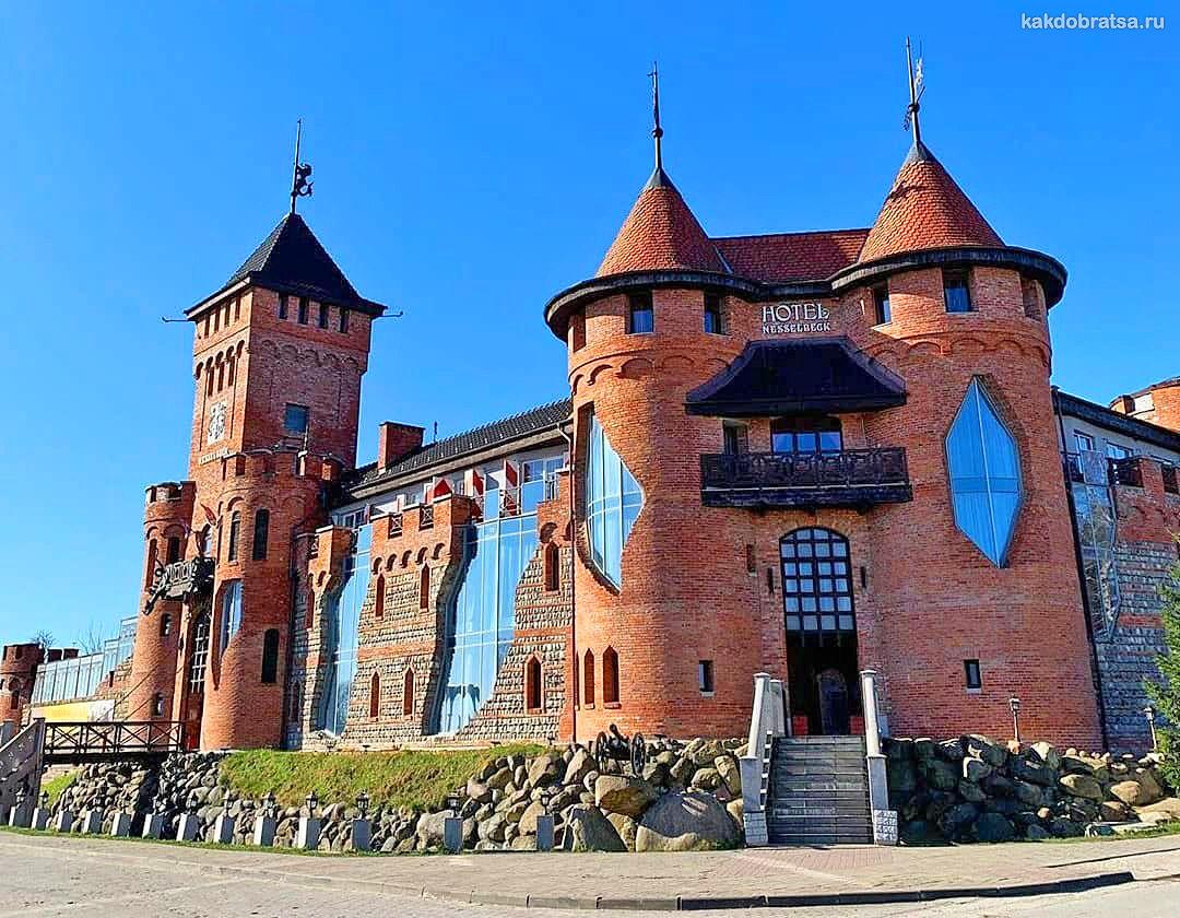 Нессельбек замок куда съездить из Калининграда на 1 день