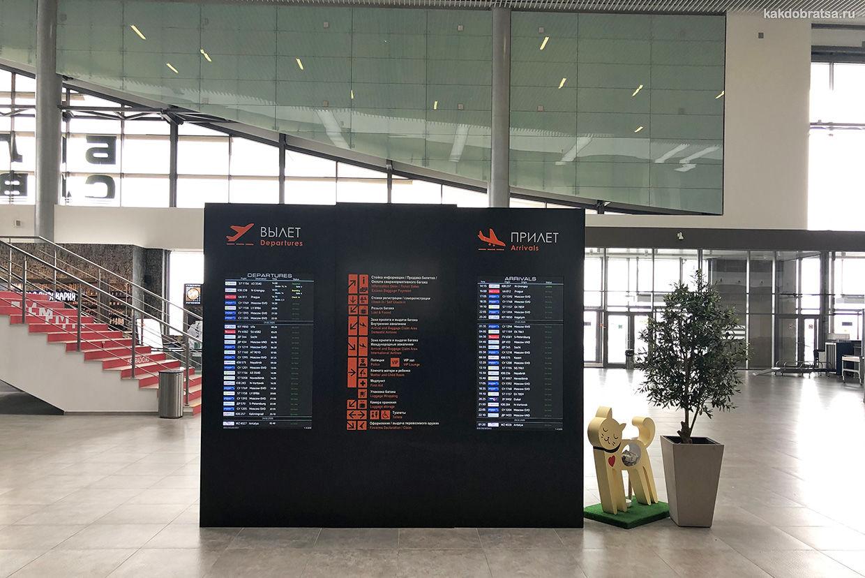 Пермь аэропорт расписание и табло вылетов