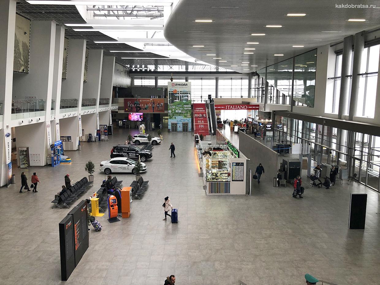 Аэропорт Пермь терминал внутри