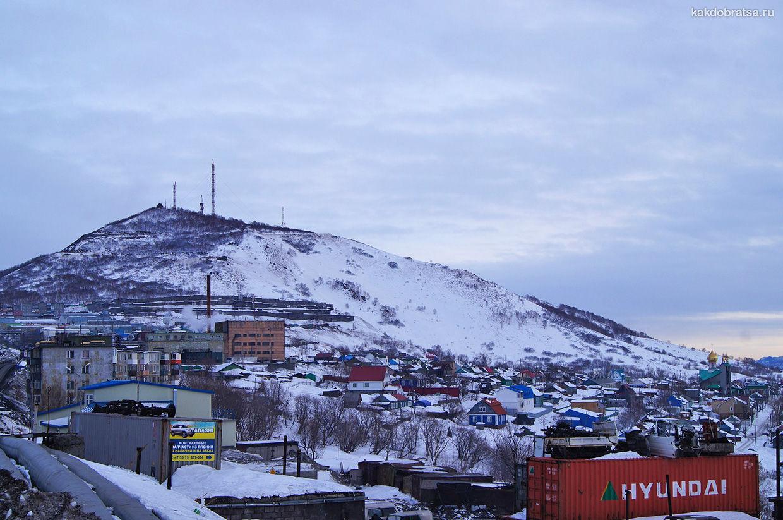 Петропавловск-Камчатский пейзаж