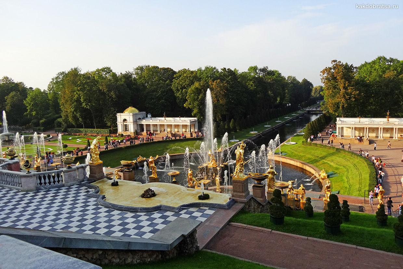 Экскурсия из Санкт-Петербурга в Петергоф