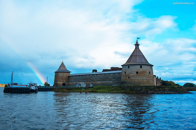 Крепость Орешек недалеко от Питера