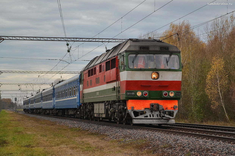 Поезд из Москвы в Геленджик