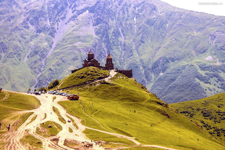 Поездка из Тбилиси на Казбек